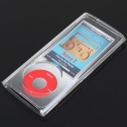 Crystal Case for Ipod Nano 4 with Clip (Translucent Black)