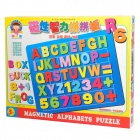 C029 Magnetic Alphabet + Number Puzzle Toy - Colorful