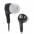 ELMCOEI In-Ear-Ohrhörer w / Mikrofon für iPhone 5 - Black (3,5 mm Stecker / 119cm)