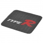 TYPE-R Vehicle Car Anti-Slip Mat Pad - Black + Red + White