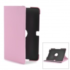 Protective Swivel 360 Degree Rotating PU Leather Case for Samsung Galaxy Note 10.1 N8000 - Pink