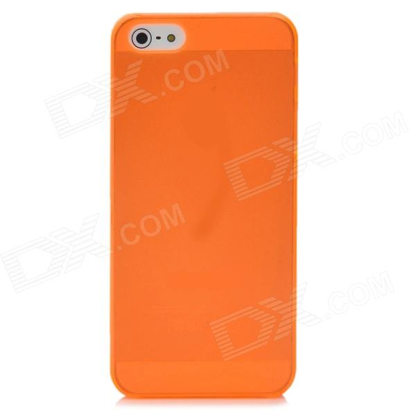 Simple Protective Back Case for Iphone 5 - Orange майка борцовка print bar mickey mouse микки маус