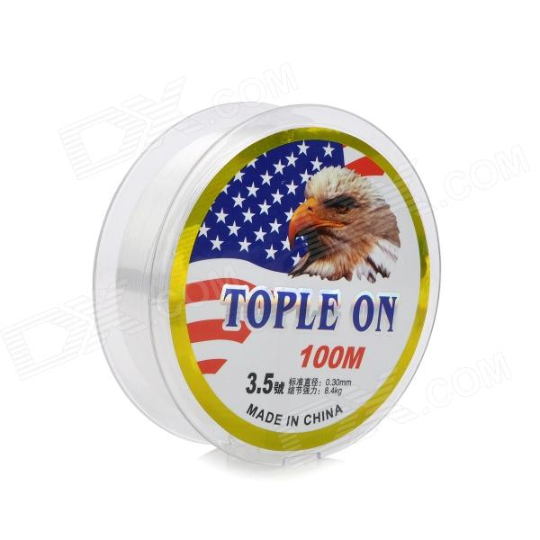3.5# 0.3mm Abrasion Resistance Fishing Line / Thread - Transparent (100m)