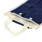 Foldable Car Umbrella Holder Storage Bag - Blue + Ivory White