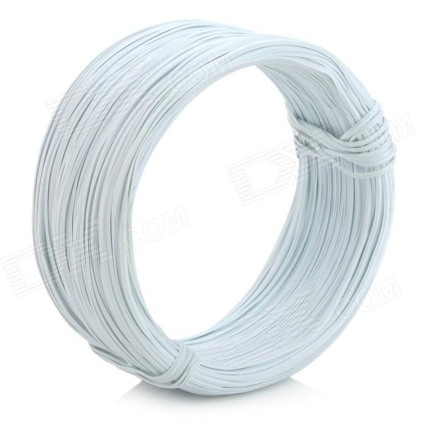 Zinc Electroplate Iron Wire Tie - White (90M) - Free Shipping ...