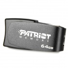 PATRIOT Cool Disk вращения USB 2.0 Flash Drive - Black (64GB)