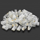 Crystal RJ45 Plug LAN Network Connector (50 PCS)