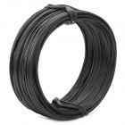 Zinc Electroplate Iron Wire Tie - Black (90M)