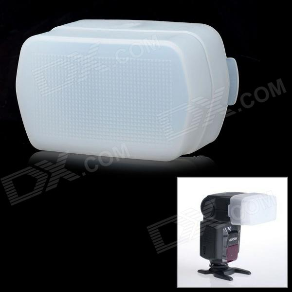 Flash Diffuser for Canon 580EX II / YongNuo YN565 / YN560 Speedlight - White