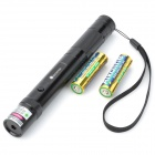 SD-280 5mW 532nm Green Laser Pointer - Black (2 x AA)