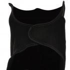 Motorcycle Sports Warm Neck Face Mask Veil Guard - Black