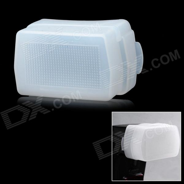 Flash Diffuser for Nikon SB-600 / YongNuo YN462 / YN460 / YN460II / YN465 Speedlight - White