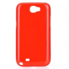 Protective Silicone Case for Samsung Galaxy Note 2 N7100 - Red