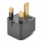 Universal Travel AC Plug -virta-adapteri - musta (UK Plug)