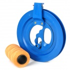 ZX01 16cm Kite Flying Tube Line Bearing manejar w / 280m Line - azul + marrón