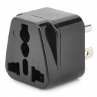 Universal Travel AC Plug Power Adapter - Black (US Plug)