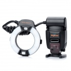 SkyBlue MK-14EXM 2.0'' LCD 9W 5500K 300lm LED Profession TTL Macro Ring Flash Light for Canon DSLR