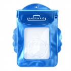 Universal Waterproof Protective PVC Bag for Canon IXUS series Cameras - Blue