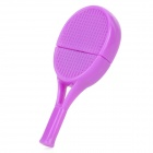 Mini Tennis Racket-Stil USB 2.0 Micro SD / TF Card Reader - Purple