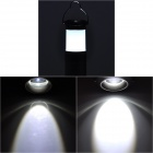 115lm 3-Mode White Light Zooming Camping Lantern Flashlight - Black (3 x AAA)