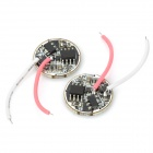 2.7V~4.2V 1200mA 5-Mode LED Driver Board (2 PCS)