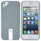 Protective Plastic Back Case with 8GB Flash Drive for iPhone 5 - Grey