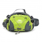 Topsky Multi-Functional Wandern Klettern Waist Bag - Grey + Green (8 L)