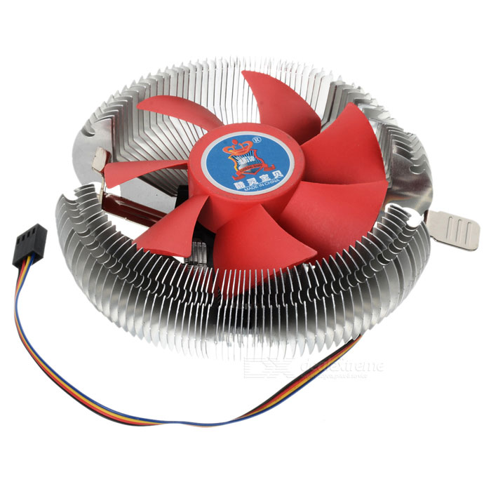 Cooling Baby CPU Heatsink Cooler (Socket LGA775 / LGA1155 / LGA1156) new pc cpu cooler cooling fan heatsink for intel lga775 1155 amd am2 am3 a97