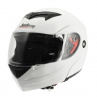 Coole JIEKA E Motorrad Outdoor Sports Racing Helmet - Black + White (Größe L)