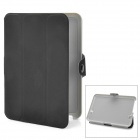 Stylish Protective PU Leather Case w/ Magic Buckle for Kindle Fire HD - Black