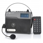 "Q-A09 Portable 1.9"" Display Media Player Speaker w/ TF / FM / Microphone / Antenna"