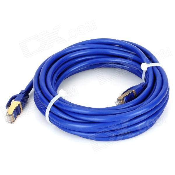 PowerSync CAT.7 SFTP 10Gbps High-Speed RJ45 LAN Cable - Blue (500cm)