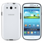 Protective Plastic Case for Samsung i9300 Galaxy S3 - Black + Transparent