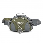 Topsky Multi-Functional Wandern Klettern Waist Bag - Grey + Army Green (8 L)