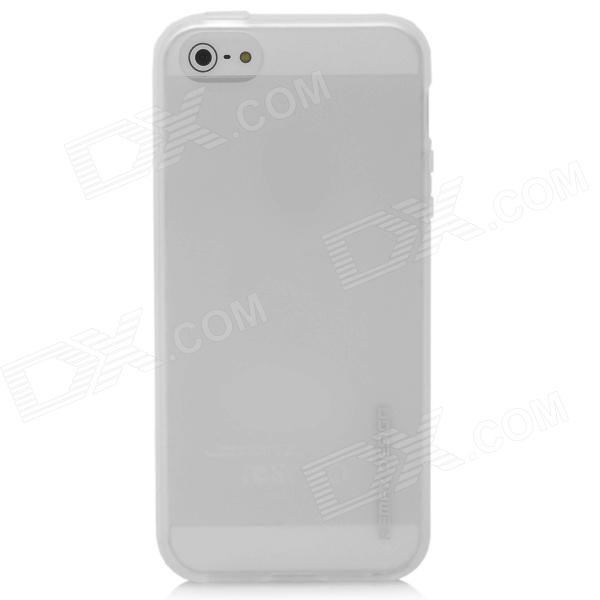 Remax Protective Silicone Back Pudding Case for Iphone 5 - Translucent