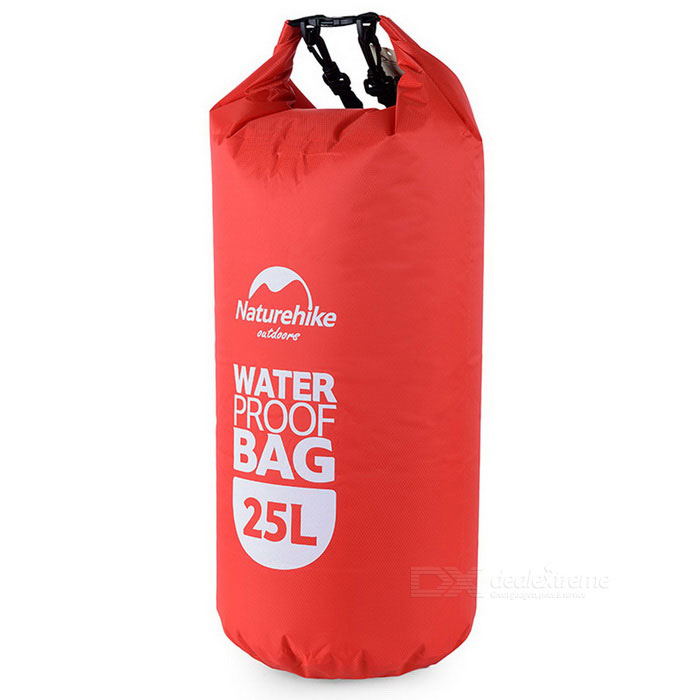 NatureHike Multi-Functional Drifting Waterproof Bag - Red (25L)