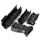 New AK4 Plastic Fluctuation Aprons + Grip Set for AK Gun - Black