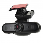 "1.5"" TFT LCD 12MP Interpolation Digital Car DVR Camcorder w/ HDMI / TF / AV-out - Black"