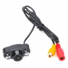 Waterproof Wired Car Rearview Camera w/ 2-LED (DC 12~24V / 40cm)