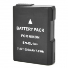 "EN-EL14+ Replacement ""1030""mAh 7.4V Li-ion Polymer Battery Pack for Nikon P7000 / P7100 + More"