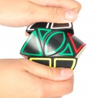 DIY Dinosaur Cylindrical Structure Magic IQ Cube Puzzle Toy - Black