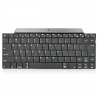 Wiederaufladbare 2.4GHz Bluetooth V3.0 Wireless-83-Key Keyboard - Black