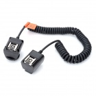 TL-C TTL Flash Off Camera Cord Cable for Canon DSLR - Black