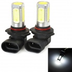 SENCART H12 7.5W 380lm 5-LED White Light Car Fog / Headlamp (2 PCS / 12~24V)