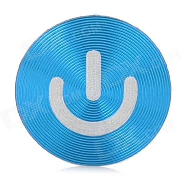 Cheap Blue Home Button Sticker for Iphone / Ipad / Ipod On ...