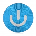 Aluminum Alloy Home Button Sticker for iPhone / iPad / iPod -Blue