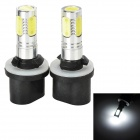 SENCART 885 7.5W 380lm 5-LED White Light Car Fog / Headlamp (2 PCS / 12~24V)