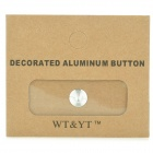 Aluminum Alloy Home Button Sticker for Iphone / Ipad / Ipod - Silver