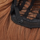 Moda peruca de cabelo Long Straight - Gold Brown