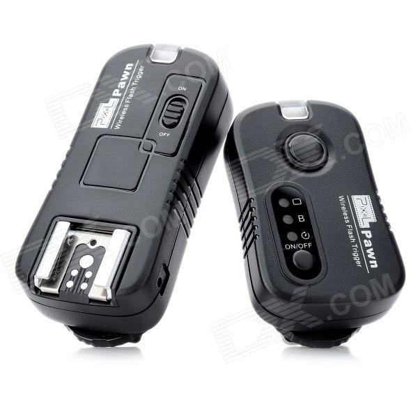 Pixel TF-361 7-in-1 2.4GHz Wireless Remote Flash Trigger Set for Canon 600D / 7D + More meike dslr camera built in 2 4g battery grip for canon eos 7d mark ii as bg e16